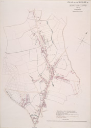 Plan of the hamlet of Kentish Town and its vicinity (1810)